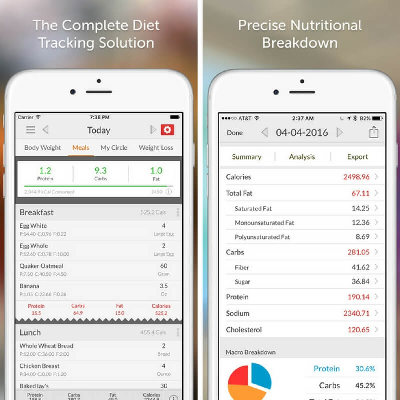 Best App For Tracking Food Macros