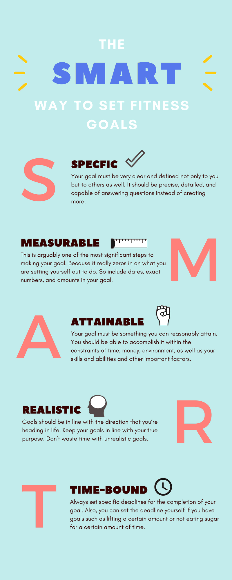 How to make a SMART goal