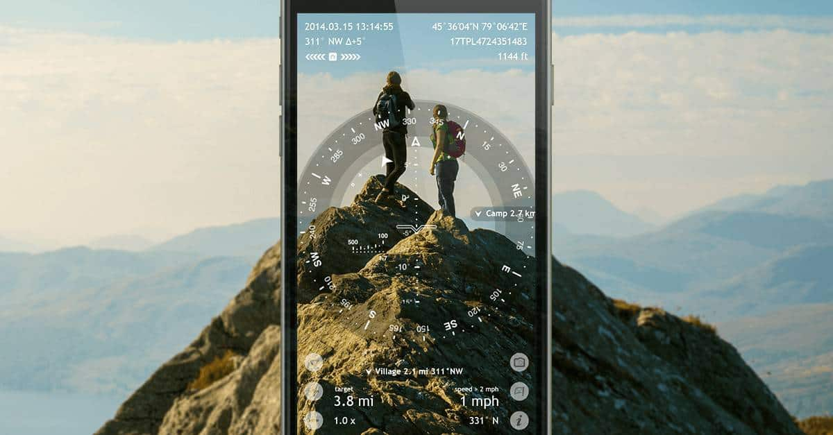 Spy Glass Hiking App