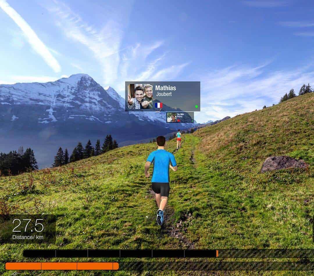 Running AR Run Social