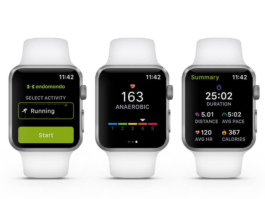 Endomondo Running App for Apple Watch