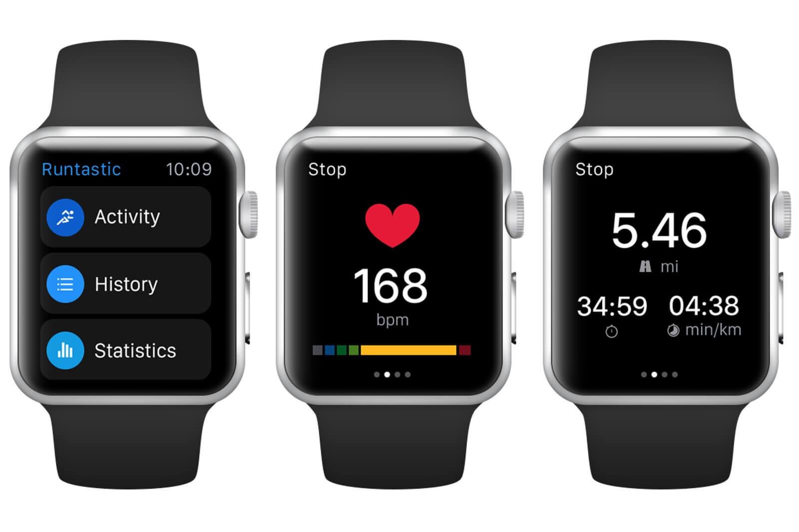 Runtastic Running App for Apple Watch