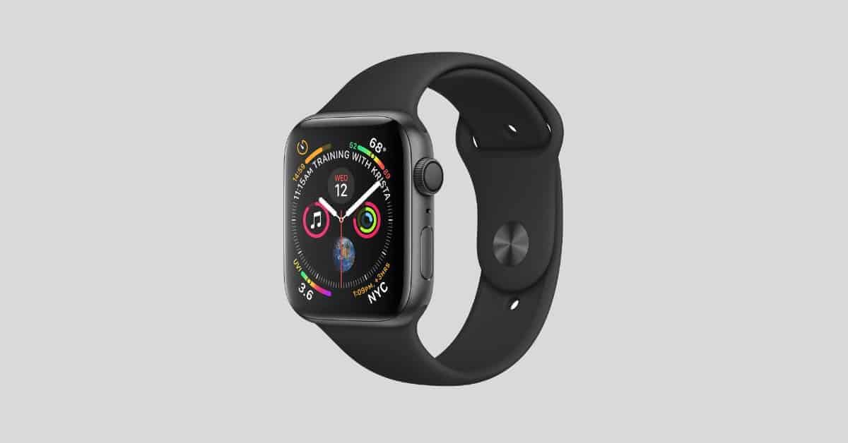 Apple Watch Series 4 Fitness Father's Day Gifts 2019