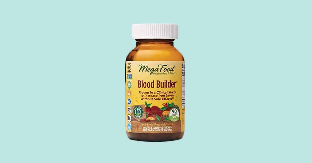 Blood Builder Vegan Best Dietary Supplement