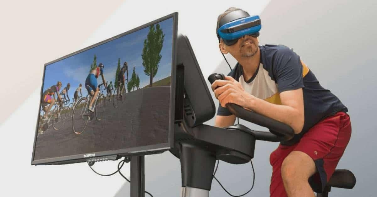 VR Training Bike Training