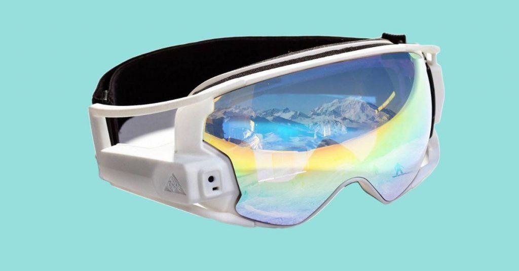 RideOn AR Ski Goggles Winter Sport Tech 2019