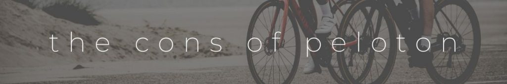 Peloton Bike Cons Header