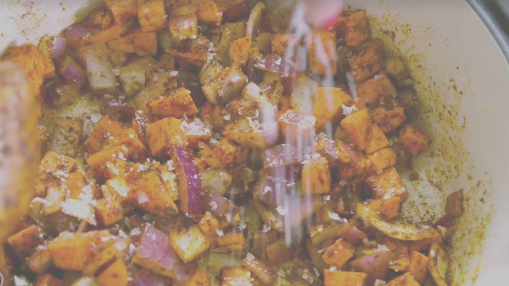 Black Bean Sweet Potato Bowl Plant Based Meal