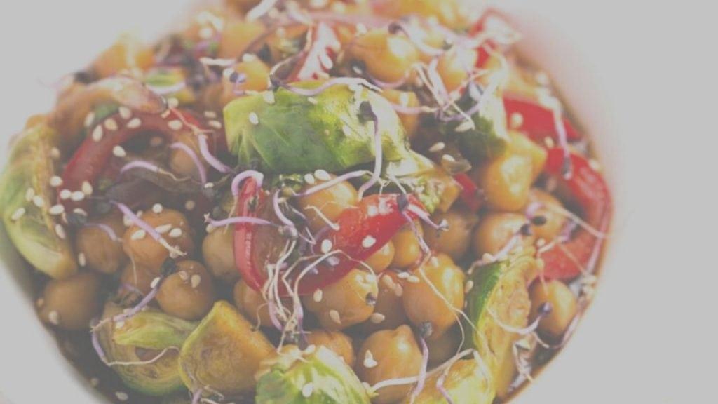 Chickpea Vegetable Stir Fry