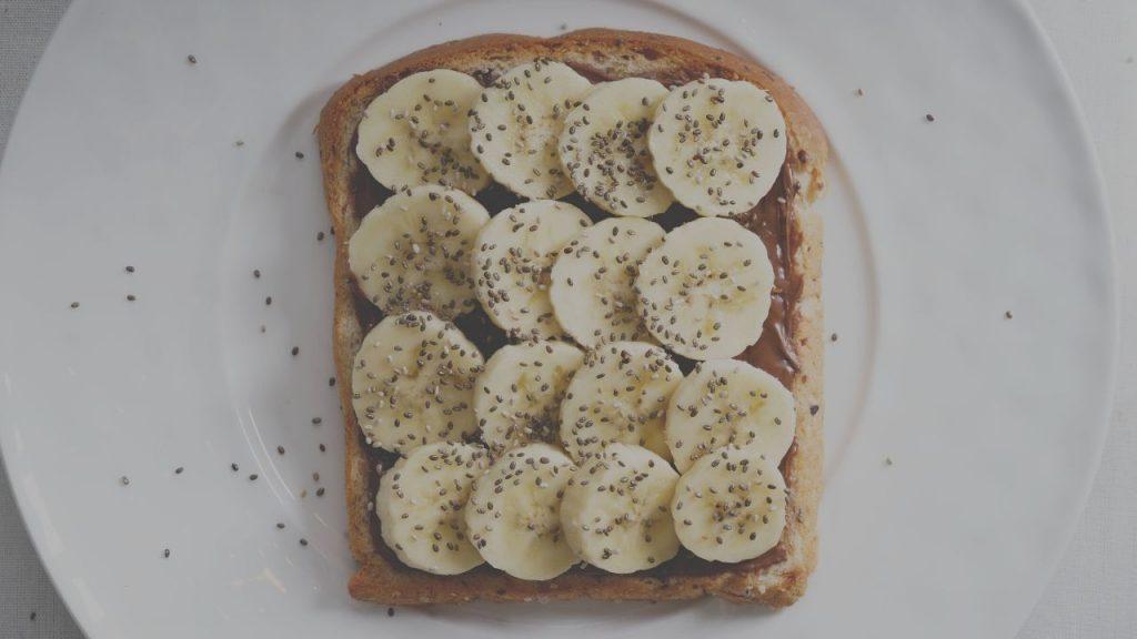 Plant Based Peanut Butter Banana Toast