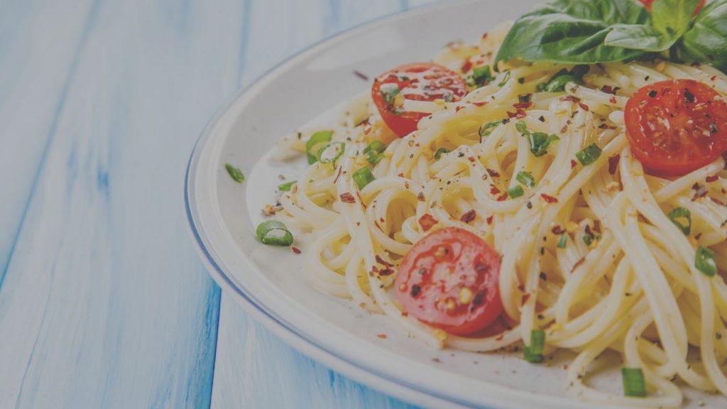 Plant Based Sun Dried Tomato Pasta