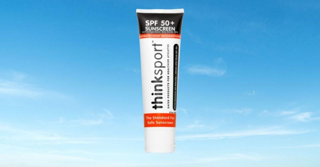 Think Sport SPF 50 Sunscreen