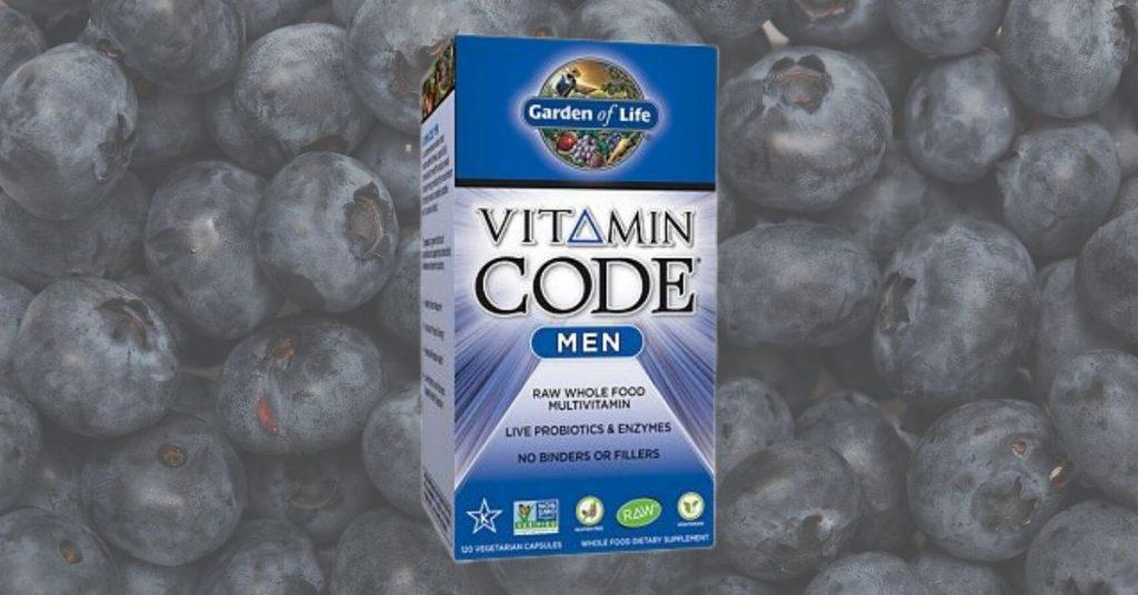 Garden of Life Vitamin Code Men's Vegan Multivitamin Supplement