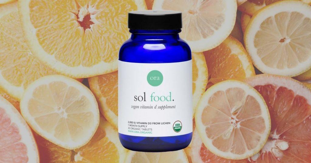 Ora Organics Sol Food Vitamin D Vegan Supplement
