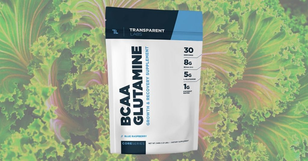 Transparent Labs BCAA Glutamine Vegan Supplement