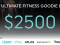 The Ultimate Fitness Giveaway, Win A Goodie bag Worth $2500!